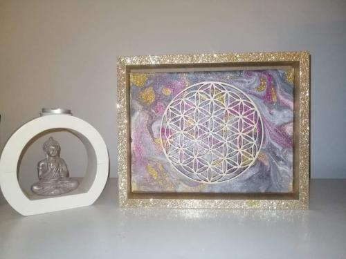 The sacred geometry of life (gold)
