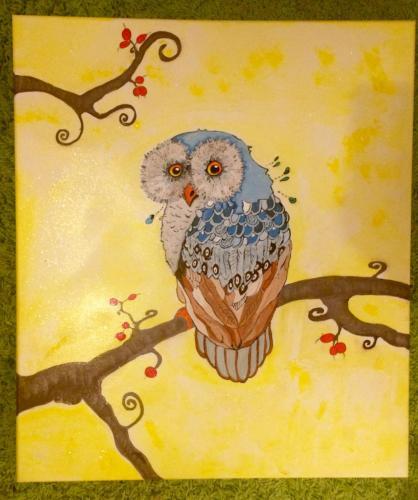 A fary owl